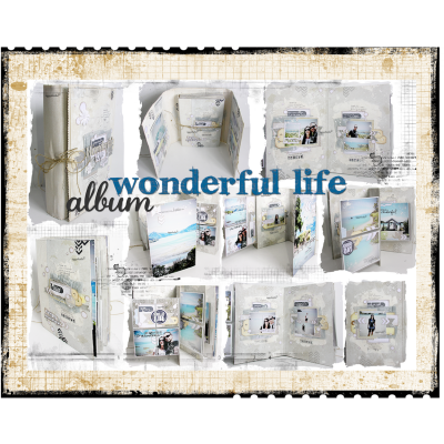 "Fiche Technique Album ""Wonderful Life"""